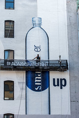Smart Water (Always Hand Paint) Tags: advertising mural outdoor beverage ooh handpaint colossal smartwater m130 cpg colossalmedia muraladvertising skyhighmurals alwayshandpaint smartwaterprogress