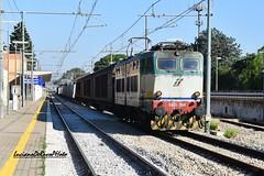 E655 264 Caimano (luciano.deruvo) Tags: stazione puglia fs ferroviedellostato trenomerci rfi caimano e655 acquavivadellefonti e655264