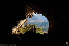 Entrance to Coffin Ridge Cave (JohannesLundberg) Tags: burma coffinridgecave expedition entrance cave geology myanmar kayah myanmarburma mm