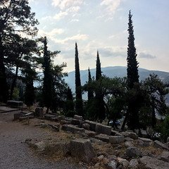 Start of the Sacred Way, Delphi (Andy Hay) Tags: 2016 delfoi delphi greece phocis sacredway sanctuaryofapollo
