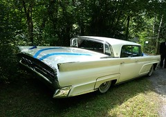 Wedding car (Andy_BB) Tags: hochzeit autolincolncontinental feier event lincoln continental mark 4 1958