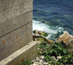 portland brutalism (Johnson Cameraface) Tags: sea summer holiday macro june portland concrete 50mm coast olympus dorset f2 zuiko brutalism portlandbill em1 2016 zd micro43 johnsoncameraface omde1