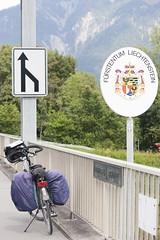 Bikepacking Switzerland (Kitty Terwolbeck) Tags: switzerland zwitserland swiss schweiz bikepacking cycling cycletour trekking fietstrekking fietstrektocht mountains frstentumliechtenstein liechtenstein bordercrossing border zoll douane rheinroute veloland velolandschweiz