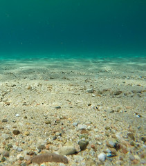 Seafloor pebbles (underwater) (Martin Lopatka) Tags: corsica france nature beahes mediterranean coast sea rocky gopro wide blue water underwater waterproof outdoors