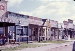 Dodge City, Kansas - 1975 (Stabbur's Master) Tags: kansas wildwest frontstreet dodgecity olddodgecity