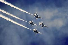USAF Thunderbirds (Tim Pohlhaus) Tags: ocean show city aviation air jet maryland atlantic thunderbirds usaf