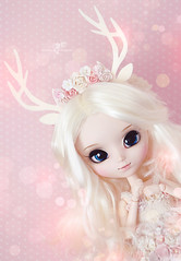Alice (Mikiyochii) Tags: pink doll dolls alice deer romantic groove pullip pullips obitsu kuloft