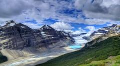 P1100186_87_88_Saskatchewan Glacier, Parker Ridge, Banff National Park, Alberta Canada90_91_92_Default (renedrivers) Tags: saskatchewanglacier parkerridge banffnationalpark albertacanada rchan415 renedrivers canada alberta rockymountain nature landscapes