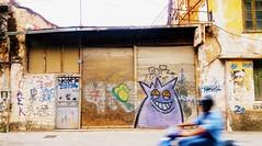Monster (PattyK.) Tags: ioannina giannena giannina epirus ipiros mycity whereilive lovelycity graffity streetart monster biker greece grece grecia griechenland ilovephotography ipiccy         2016