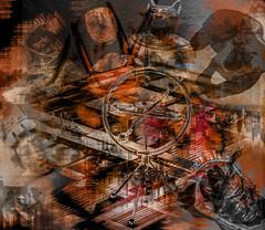 La maquina del tiempo (seguicollar) Tags: viaje tiempo mquina pasado imagencreativa photomanipulacin virginiasegu artedigital arte art artecreativo