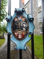 Seal on the gates (BBuzz1) Tags: saintpatrickscathedral westsalemhighschool westsalemhighschoolfrench wshsfrench wshseurotrip dublin