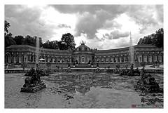 Hermitage Court Garden Bayreuth - Germany (mikael.heinrichson) Tags: mikaelheinrichson panasonic dmcfz50 blackwhitepassionaward flickrtravelaward flickrunitedaward