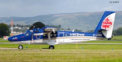C-GVKI DHC6 VIKING (douglasbuick) Tags: aircraft dhc6 viking cgvki loganair egpf glasgow airport aviation scotland flickr canadian registration markings nikon d40