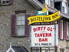 Distelfink Inn (Multielvi) Tags: pennsylvania pa lancaster county distelfink inn dirty ol tavern bar prince street sign