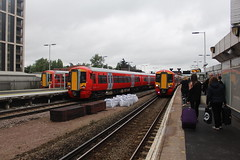 387223 387222 387225 (matty10120) Tags: train transport rail railway clas class 387 gatwick express thameslink e east croydon