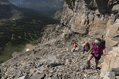 """Climbing Mt. Siyeh • <a style=""""font-size:0.8em;"""" href=""""http://www.flickr.com/photos/63501323@N07/28711050016/"""" target=""""_blank"""">View on Flickr</a>"""