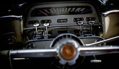 1954 Mercury Monterey dashboard (rich701) Tags: vintage 35mm color 1950s langhorne pa pennsylvania carclub automobileclub 1954mercury bthriftyfoods texaco youcantrustyourcar