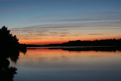 lake (Nicolas4065) Tags: sunset lake gers midipyrnes water blu bluesky redsky pictures wallpaper landscape