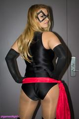 Ms. Marvel cosplay (The Doppelganger) Tags: sexy ass philadelphia cosplay butt booty blonde cosplayer marvelcomics wizardworld superheroine msmarvel wizardworld2015