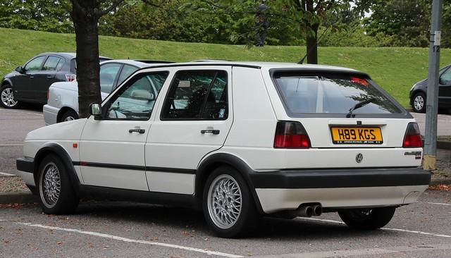 golf volkswagen gti 1990 5door 16v 1781cc