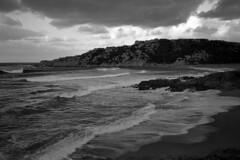 Montirussu n 1 (Franco & Lia) Tags: sardegna blackandwhite seascape analog landscape sardinia noiretblanc epson agfa biancoenero argentique pellicola analogico v500 adox nikonl35af2 aph09 montirussu