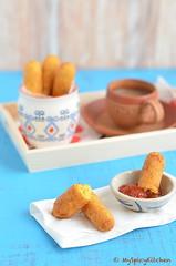 Sorullitos de Maiz 4 (myspicykitchen) Tags: snacks appetizers cornmeal fritters deepfried puertoricanfood