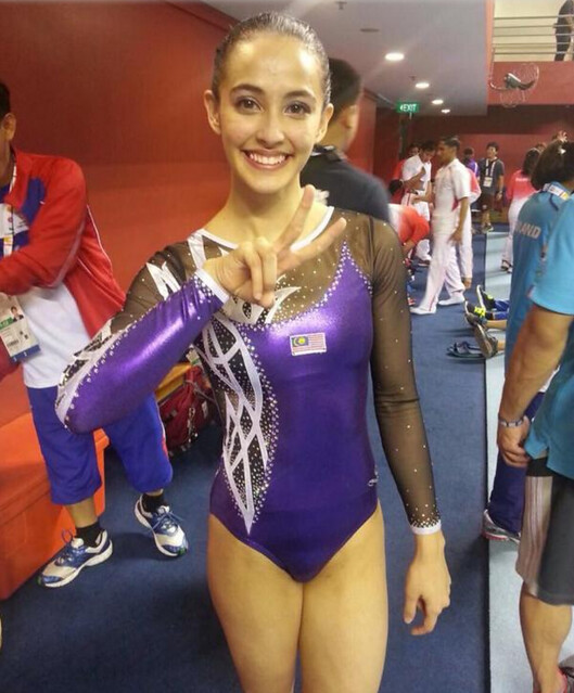 KJ pertahan pakaian ahli gimnastik Farah Ann