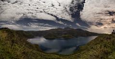Cotacachi el gigante y la laguna (Mr. CHILI) Tags: mountain lake landscape star ecuador outdoor panoramic panoramica laguna estrella vulcano volcan cotacachi imbabura cuicocha