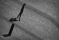 ... (ValeriaBD) Tags: street shadow blackandwhite bw man monochrome copenhagen denmark daylight nikon d7000 valeriabd