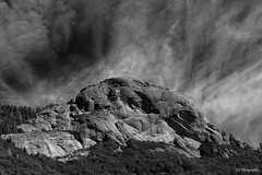 Prayers for rain (.KiLTRo.) Tags: sequoianationalpark california unitedstates kiltro rock mountain outdoor landscape texture sky clouds monochrome blackandwhite