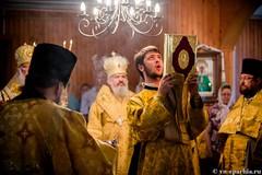 Божественная литургия в пос.Котово 110