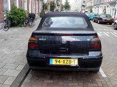 Volkswagen Golf 4 cabrio 2000 nr2031 (a.k.a. Ardy) Tags: softtop 94xzb1