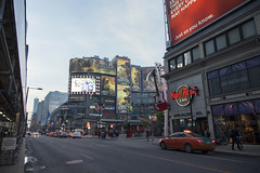 DundasSquare (crainnational) Tags: toronto ontario canada tourists hardrockcafe dundassquare shoppingarea torontoon