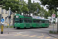 489 (KennyKanal) Tags: tram grn schindler waggon bvb pratteln basler cornichon verkehrsbetriebe schienenfahrzeug drmmli