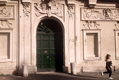 Carriero was here - 4 (carriero7) Tags: rome keyhole giardino degli aranci iphone photooftheday lady great beauty roma san pietro