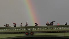 Pot of Gold 5 (cherylea_cater) Tags: london thames river rainbow boattrip shard countyhall teamnight