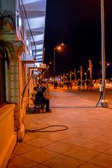 Rock Beach Night (wandercrumbs) Tags: rock beach street photograph night pondicherry puducherry