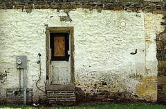 Farm House Wall (MTSOfan) Tags: door wall farmhouse rural decay patches electricmeter
