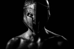 Spartan (simon.anderson) Tags: flash helmet warrior 300 spartan offcameraflash strobist simonanderson