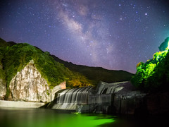 DC (Y.P. Jhou) Tags: milkyway taiwan water sky nightscape     nikon