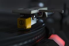 pick up (WhatEyeZ) Tags: lp record player needle styles close portrait spinning music nikon d3100 55 tyron valkenberg
