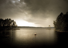 (Svein Nordrum) Tags: light shadow lake norway clouds scenery explore tones cloudscape explored rmsjen
