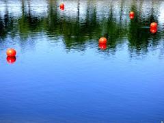 Cinco boyas (juantiagues) Tags: color ro lrez oyas juanmejuto juantiagues