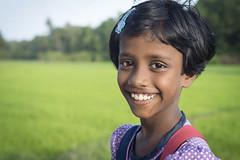 She loves Sri Lanka (Photosightfaces) Tags: sri lankan lanka young girl paddyfields srilanka srilankan face happy smile pleasant rathgama smiling