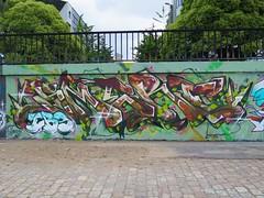 Nantes, Smerf (Zerbi Hancok) Tags: nantes nantesgraffiti nantesstreetart quaidelaloire quai graffiti graff streetart walls