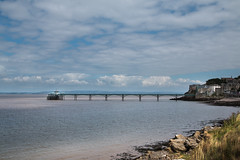 The Pier (Andrew_Leggett) Tags: clevedon pier victorian architecture then now link past present sea seaside holiday clouds light shade water listed sunlight coast outdoor landscape shore beach sky