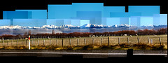 Ruahine Ranges NZ (Tehau) Tags: outdoor landscape new zealand colour photomontage photocollage joiner