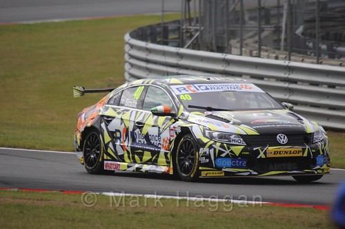 Árón Smith  in touring Car action during the BTCC 2016 Weekend at Snetterton