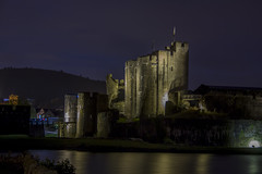 Caerphilly Castle at night (Dai Lygad) Tags: caerphilly wales uk unitedkingdom britain greatbritain welsh history castle castellcaerffili cadw heritaqe night nighttime photography nightphotography chteau paysdegalles fortress largestcastleinwales fortification medieval 13thcentury anglonorman normans resourceforschools resourceforteachers image photo picture photograph freetouse creativecommons attributionlicense attributionlicence flickr canon 500d eos camera amateurphotography medievalcastles llun castell tripodphotography longexposure