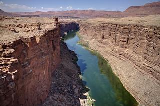 Marble Canyon, Navajo Bridge, Colorado River, Grand Canyon National Park, Coconino County, Arizona 1